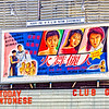 A hand drawn movie poster for 'Club Girls' or is it 'Clu Girls'? Today in Cantonese. Georgetown, Penang, Malaysia.