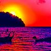 Loh Dalam Bay Sunset