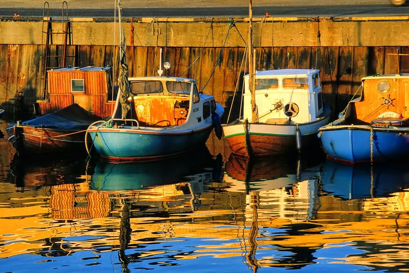 Boats at Midnight