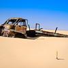 Abandoned Bedford Truck in Calanscio Sand Sea