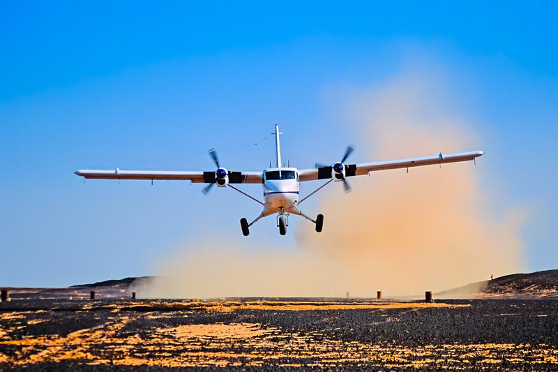 Desert Takeoff