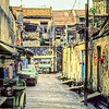 An alley in Georgetown, Penang, Malaysia.