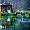 Summerhouse on the River Kennet at Marsh Benham