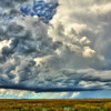 Thunderstorm over the Francis S. Taylor Wildlife Management Area-Water Conservation Area 3B of the Florida Everglades.
