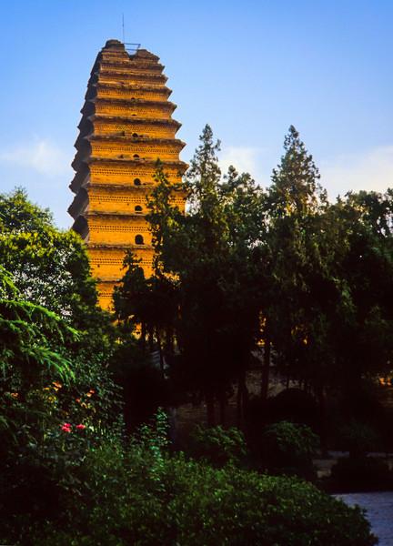 Small Wild Goose Pagoda Xian