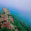 The Great Wall in the Mist