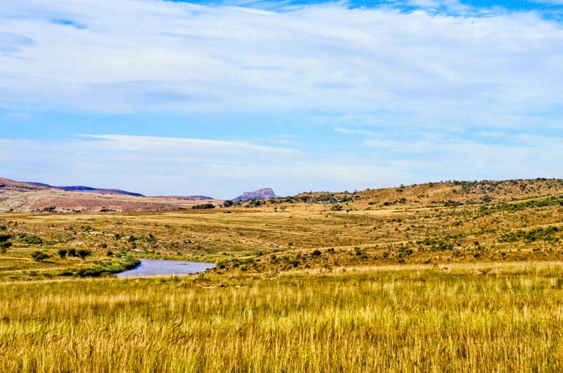 Isandlwana from Rorke's Drift
