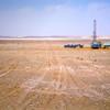 Uphole drilling unit Concession 20, Libyan Desert