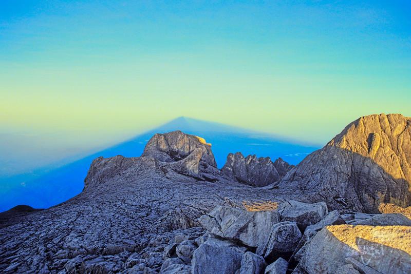Shadow of Mount Kinabalu 2