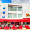 Johnny Rockets Diner at 728 Ocean Drive, South Beach, Miami.