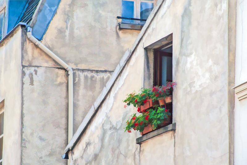 Montmartre Window Box