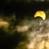 Partial eclipse as seen from Mardon Hall