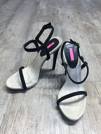 Size 37 EU , Heel height 4.5 inch