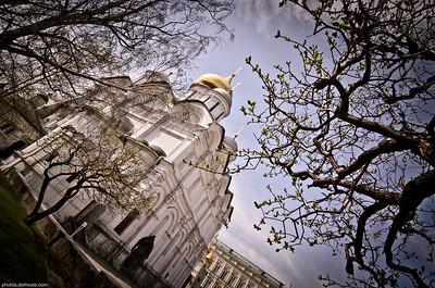 Cathédrale à Moscou