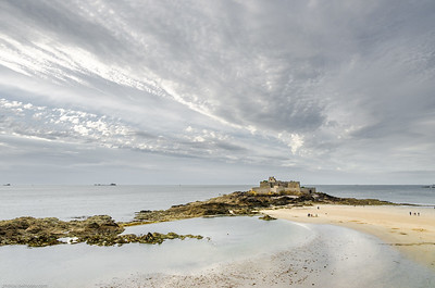 Fort National à Saint-Malo