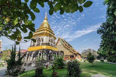 Wat Phan Tao in Chiang Maï (Thaïland)