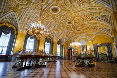 Dorures à l'Ermitage