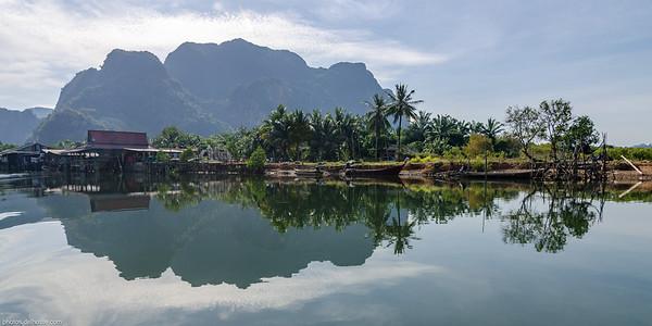 Thaï Village near Krabi (Thaïland)