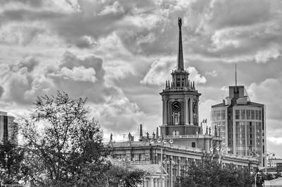 Ekaterinbourg en N&B