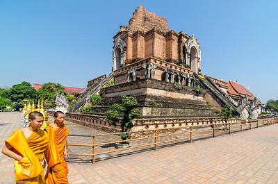 Wat Chedi Luang (Chiang Maï - Thaïland)