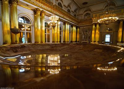 Vasque dans l'Ermitage