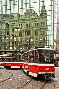 Tram à Prague