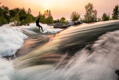 Boise River Surfing