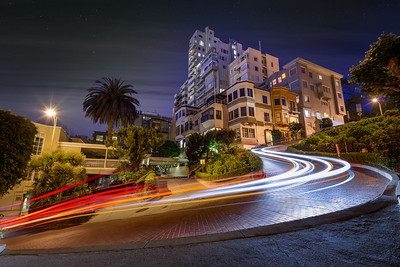 Curves of Lombard Street