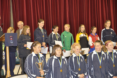 Girls football Tournament Team