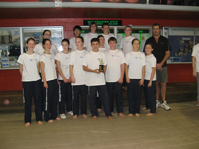 Auckland Normal Intermediate A Water Polo Team Winners of the Plate Final of the 2008 Auckland Water Polo Winter Festival Back Row: Kate Cunningham (Coach), Hoon-he Lee, Chris, Ethan Brosnahan, Katrin O'Donnell, Peter Logan (Coach) Front Row: Stephanie, Shannon, Lucy, Emily, Ruben Puketapu, Cinrad Smith, Phillip Hargreaves, Georgia, Alice Logan