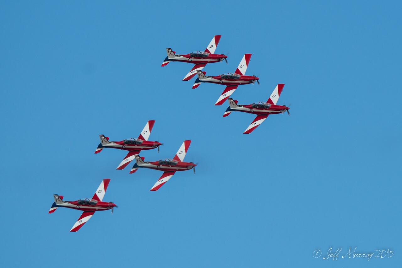 Wing over Derwentwater