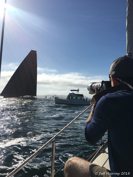 On the bow of Peter Robyn