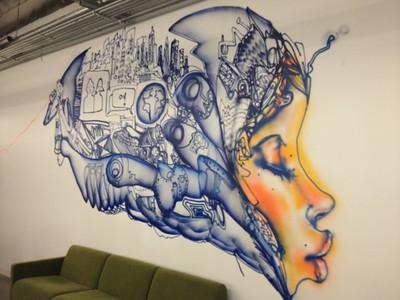 Graffiti - MPK Building 16