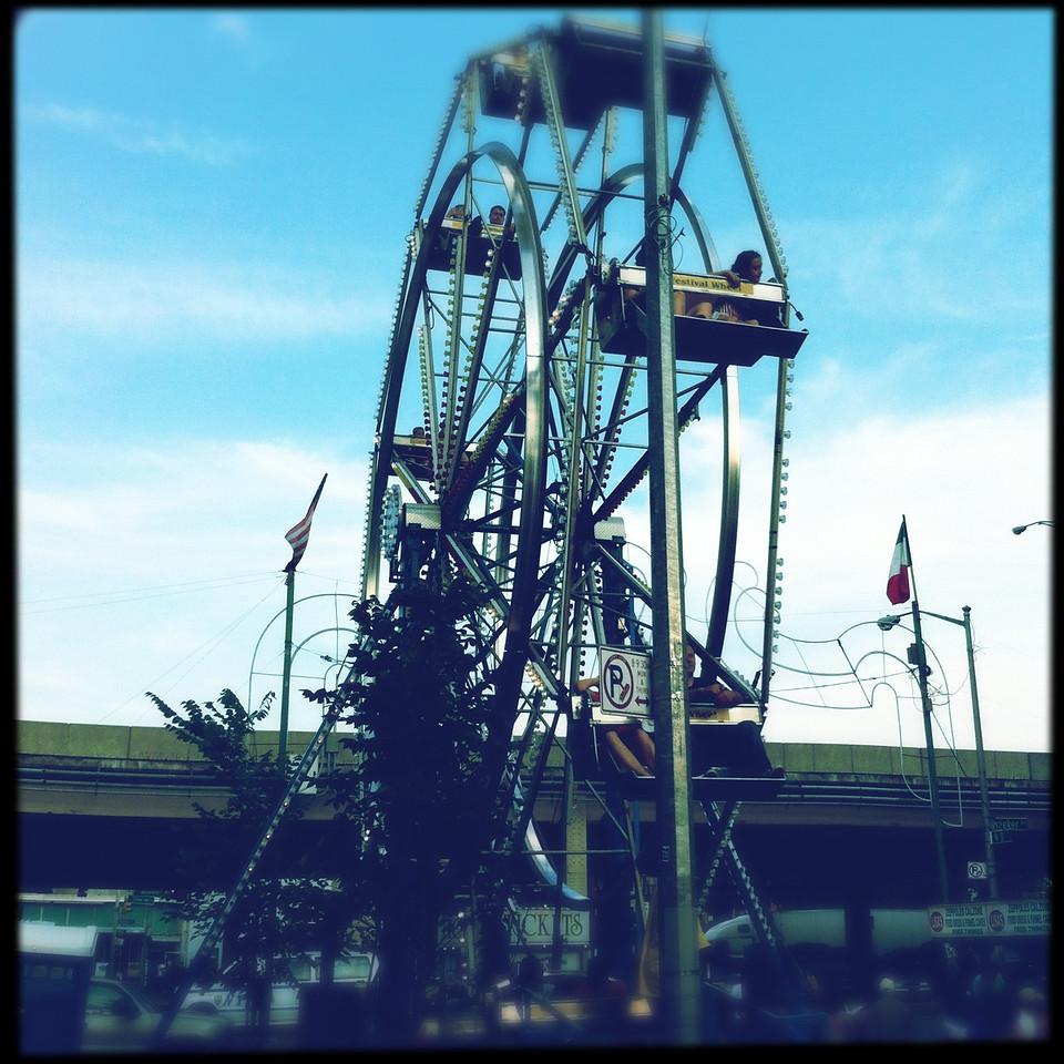 Ferris Wheeil at OLMC Feast.