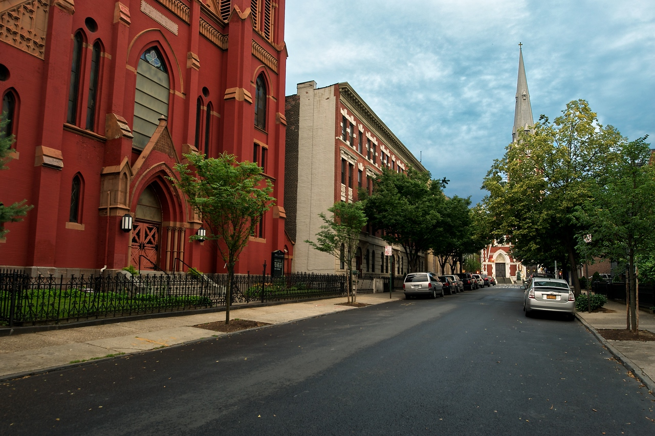 Saint John's Evangelical Lutheran Church - Milton Street, Greenpoint