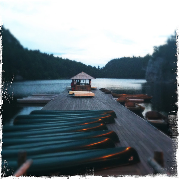 Nohonk Pier and Boat House