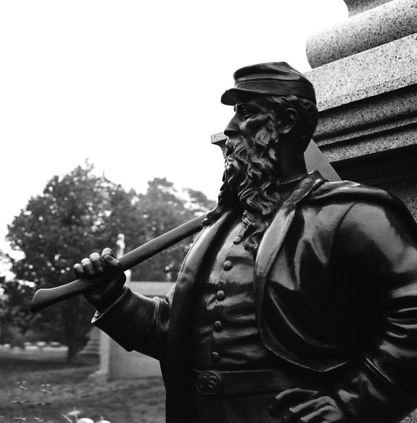 Civil War Monument, Green-Wood Cemetery