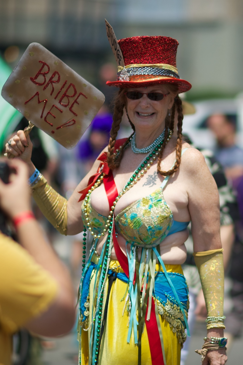 Coney Island Mermaid Parade Judge