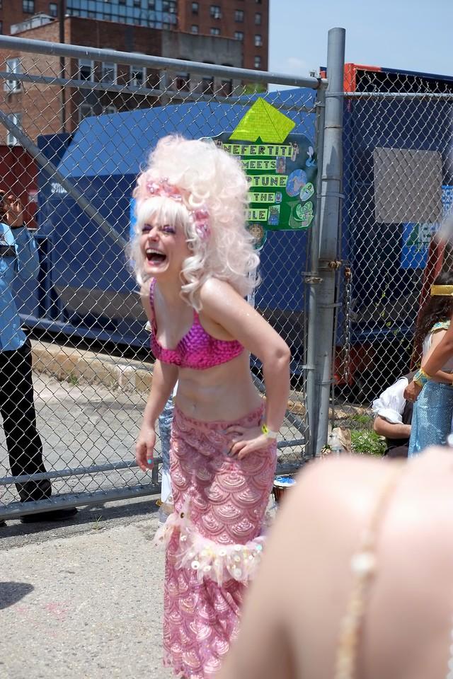Laughing Mermaid - Coney Island 2013