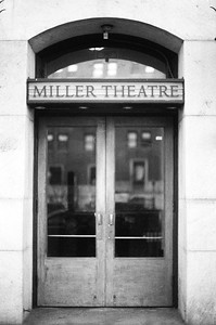 Miller Theater Doors, Columbia University