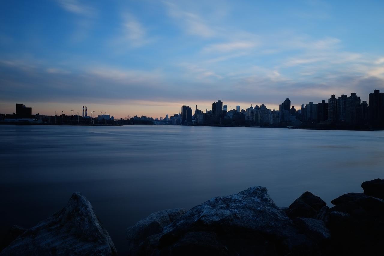 East River Dusk From Randall's Island (JPG SOOC)