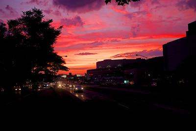 Queens Boulevard Sunset