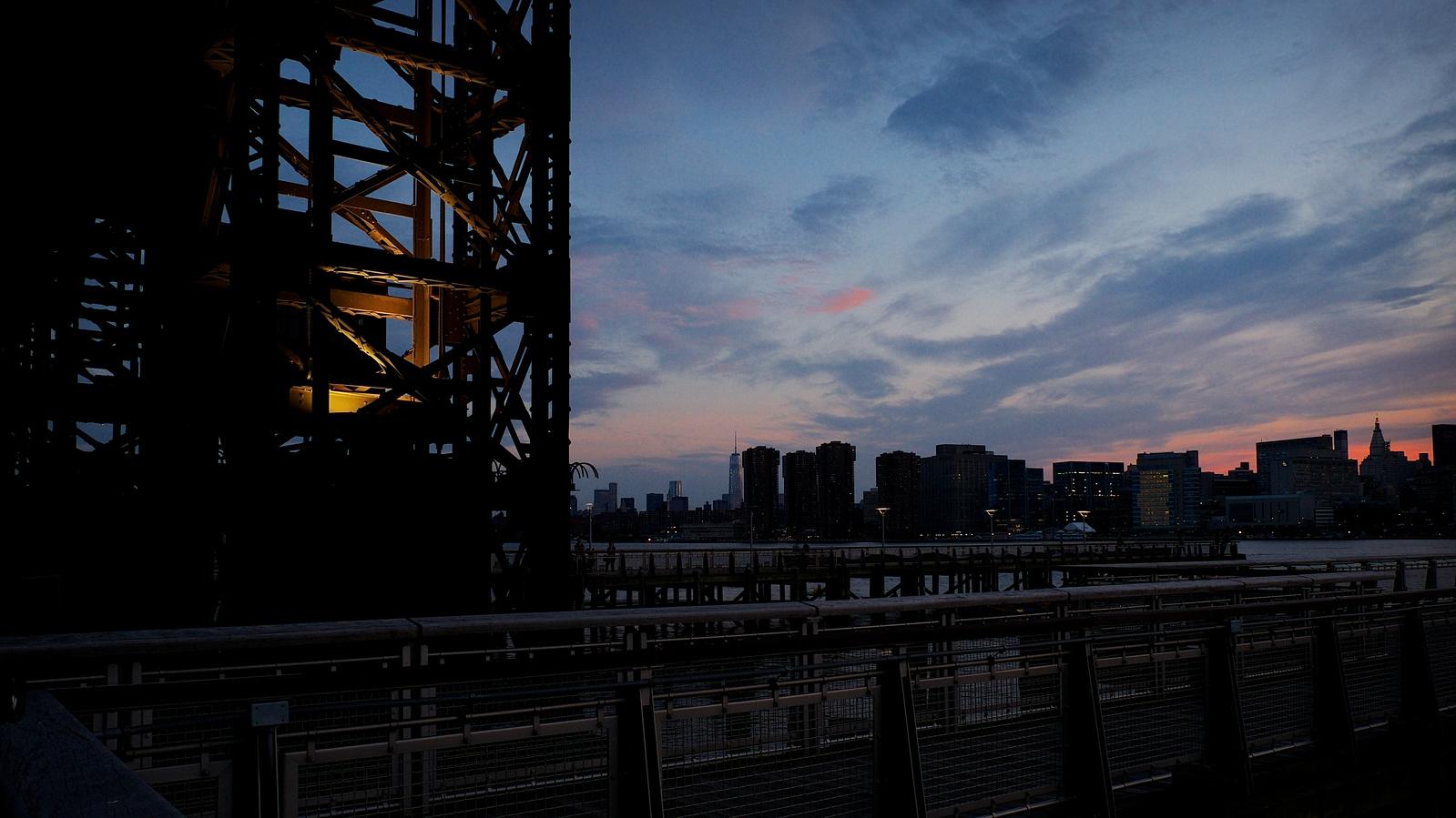 Gantry Sunset
