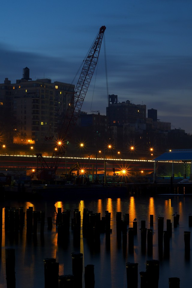 Brooklyn Bridge Park Crane