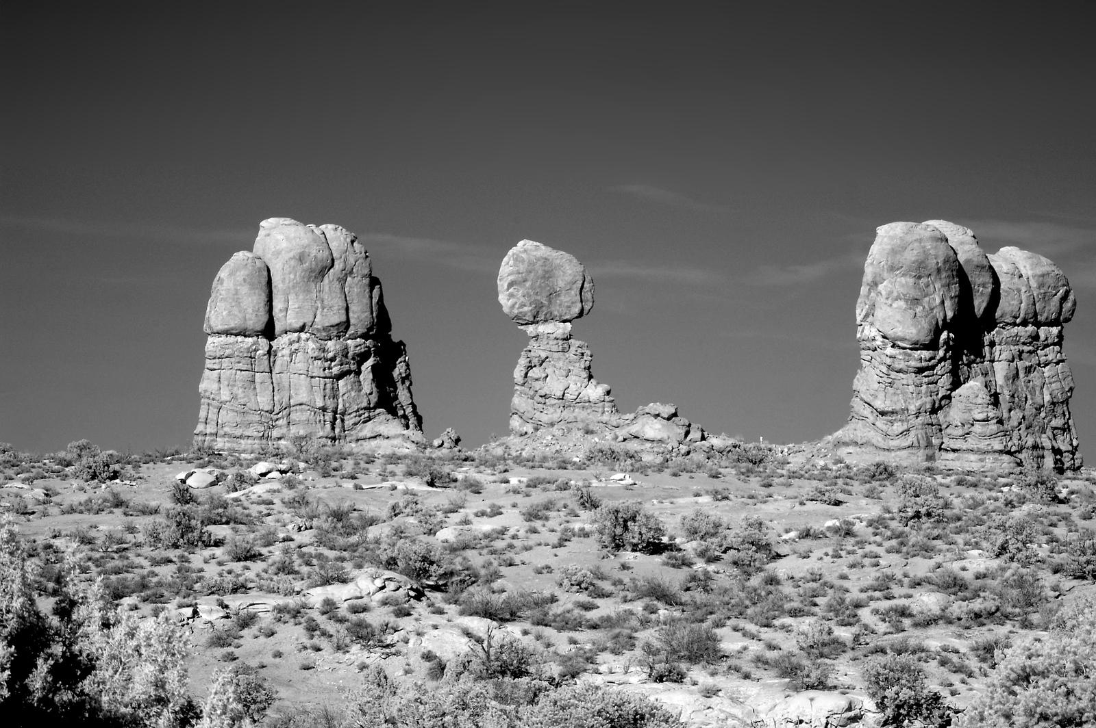 Balanced Rock Infrared