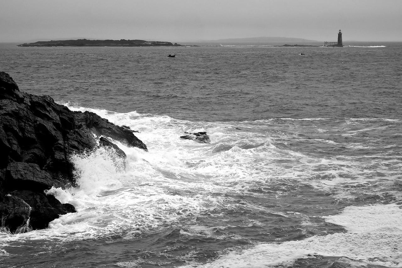 Ram Island Ledge Light and Portland Head Rocks