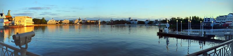 Disney World Epcot Resorts Panorama - Boardwalk Resort, Yacht Club, and Beach Club