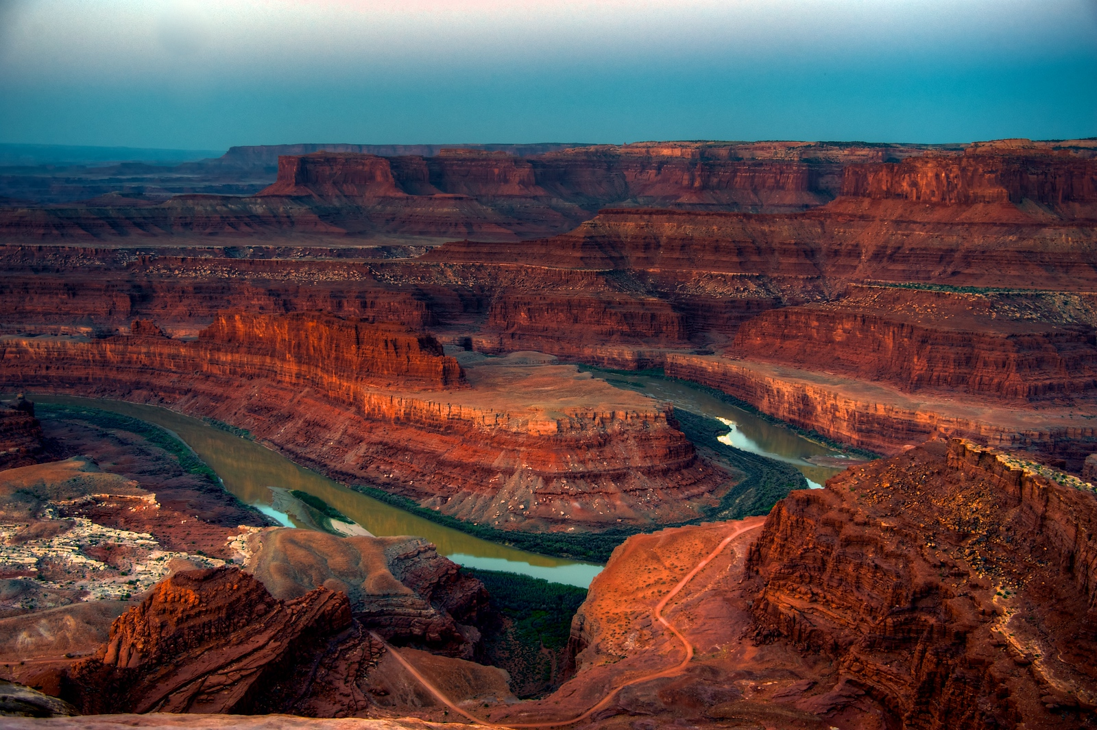 Dead Horse Point Colorado River View