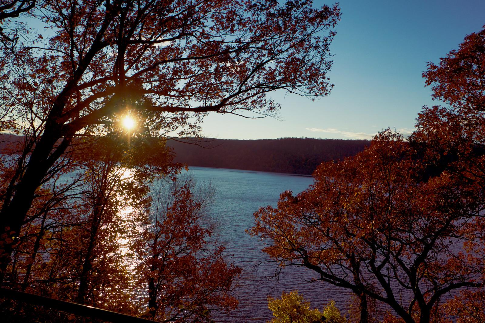 Hudson River Fall