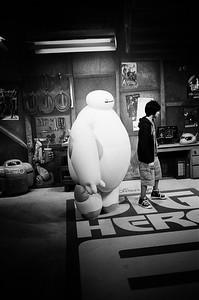 Big Hero Six - Baymax and Hiro in WDW Hollywood Studios